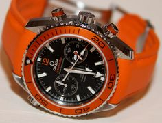 Omega Seamaster Planet Ocean Cal. 9300 Co-axial  What about the strap?