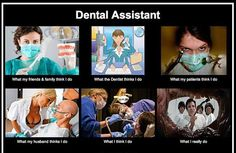 I am also a Registered Dental Assistant.