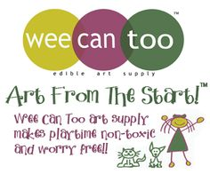 Wee Can Too makes edible art supplies which are probably one of the coolest things I have seen. We know it is important to cultivate creativity in our youth but Edible Art, Art Supplies, Canning, Newfoundland, Creative, How To Make, Green, Christmas, Kids