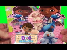 Doc McStuffins Glitter & Jewel Wooden Doll & Storybook Disney Jr Fun Toy Video Little Wishes - YouTube