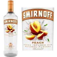 Peach Vodka Drinks, Smirnoff Green Apple, Pineapple Vodka, Citrus Vodka, Infused Vodka, Liquor Drinks, Smirnoff Sours, Smirnoff Flavors, Alcoholic Drinks