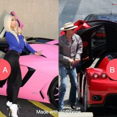Nicki's Aventador or Nick Cage's Enzo? Click here to vote @ http://getwishboneapp.com/share/10836930