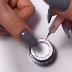 nail art videos & nail art designs & nail art & nail art designs for spring & nail art videos & nail art designs easy & nail art designs summer & nail art diy & nail art tutorial Cute Nail Art, Beautiful Nail Art, Cute Nails, Pretty Nails, How To Nail Art, How To Do Nails, Beautiful Pictures, Nail Art Designs Videos, Nail Art Videos