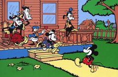 Mickey Mouse- Disney- Walt Disney- cartoons-  Created by Disney