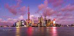 Pudong by Mihai Lefter on 500px
