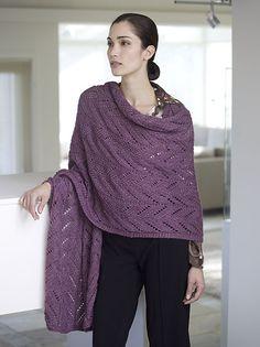 """Ravelry: Padma """"Pashmina"""" Wrap pattern by John Brinegar"""