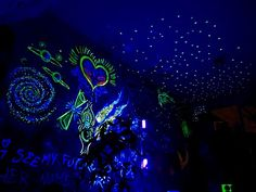 FSBO Netherlands - Fantastic Mystery-House, ONLY ONE IN THE WORLD, unique object of creation, filled up with multi-dimensional creations (glowing at daytime, at night and in UV-light) - every single creation is done by hands of Creator (by colourful paints and glowing at night paints). Very special house, that can be used as living house, recreational house, spiritual meditation, memorial hystoric museum-house or house for spiritual experiences (cannabis, ayahuasca, magic mushrooms, etc..)