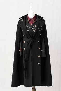 ★Cheap Winter Coats for Women☆ with ▮Different Styles▯ - Lolita, Cute, Long Winter Coats for Women and More - My Lolita Dress Winter Coats Women, Coats For Women, Stylish Outfits, Cool Outfits, Mode Steampunk, Steampunk Fashion, Gothic Steampunk, Mode Costume, Lolita Fashion
