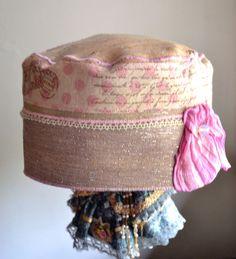 Ooh La La spring romantic hat by Liquidshiva on Etsy, $38.00