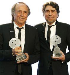 joaquin sabina, serrat, premios lunas auditorio, mexico, 2012