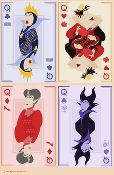 Evil Queens {shout out to fellow villains}