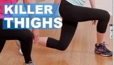 Get Thin Thighs in Only 5 Minutes #fitspo