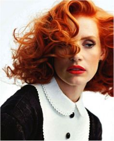 Curls, colour and the look by Wella.