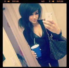 Melissa Marie Green - this girl is my HAIR idol