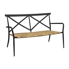 The OSeasons Milos Rattan and Aluminium 2 Seater Arm Chair in Black is a luxurious garden chair that fuses modern and rustic design. Made mostly from high quality aluminium, the chair boasts a sleek and sophisticated look without sacrificing style. Strong, durable and expertly crafted, this chair will be a mainstay in your garden for years to come.