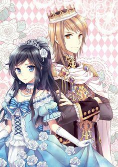 Anime Prince and Princesse / Artist : Nardack
