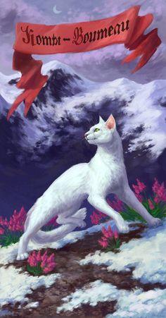 Warriors cats - Halfmoon by Cat-Patrisiya.deviantart.com on @DeviantArt