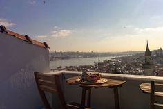 Wrong neighborhood? Has everything Panoramic Golden Horn view (rare !) in İstanbul - Get $25 credit with Airbnb if you sign up with this link http://www.airbnb.com/c/groberts22