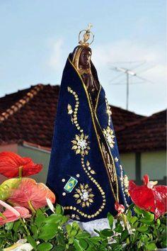 Nossa Senhora Aparecida, padroeira do Brasil Divine Mother, Mother Mary, Altar, Mama Mary, Blessed Virgin Mary, Blessed Mother, Namaste, Madonna, Catholic