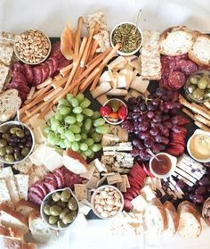 Looking for cheese platter ideas for your next party? If you need to whip up something quick and attractive, I have a few ideas in mind.