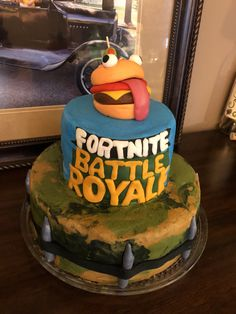 Fortnite Cake Durr Burger My Cakes And Other Creations
