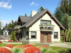 Dążąc do zwiększenia powierzchni domu nie zwiększając szerokości działki, możemy uzyskać dobre rezultaty zarówno pod względem przyrostu powierzchni jak i rozwiązań estetyki kształtu i formy.