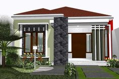 Simple and Modern Inspirational Minimalist Home Designs Modern Minimalist House, Minimalist Home Interior, Minimalist Design, One Storey House, Cool House Designs, Picture Design, Simple House, Home Look, My Dream Home