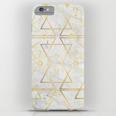 wire gOld triangle iPhone & iPod Case