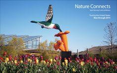 Sean Kenney's LEGO sculptures, Touring botanical gardens across the US through 2014
