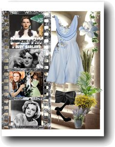"""Judy Garland Contest"" by hobitanija ❤ liked on Polyvore"