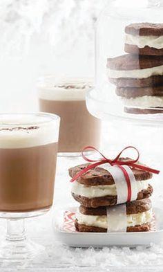 Ice Cream Sandwiches & Haute Chocolate | LCBO Holiday 2014 | AGENCY: Karen Lim | PHOTO: Steve Krug | FOOD STYLING: Eshun Mott | PROP STYLING: Christine Hanlon