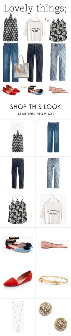 """Lovely"" by villasba ❤ liked on Polyvore featuring Madewell and J.Crew"