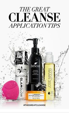 THE GREAT CLEANSE: Who says washing your face has to be boring? From makeup-melting formats to turbo-charging tricks, learn the top tips to get your skin in tip-top shape on the #Sephora Glossy>