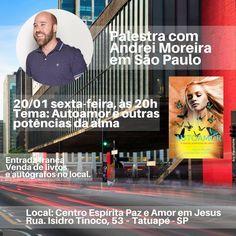 """Palestra """"Autoamor e outras potências da alma"""" em Tatuapé - SP - http://www.agendaespiritabrasil.com.br/2017/01/20/palestra-autoamor-e-outras-potencias-da-alma-em-tatuape-sp/"""