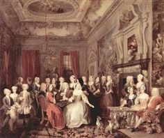 Wanstead Assembly at Wanstead_ House - William Hogarth