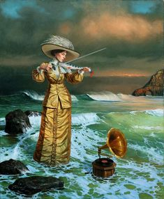 Songs Of The Island of Sirens / michael cheval / surrealism / art