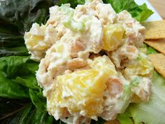 Cookin' Cowgirl: Healthy Tropical Chicken Salad