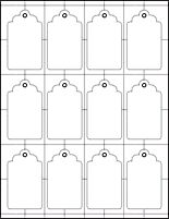 Free printable blank gift tags template pinteres this site has an assortment of hang tag templates as well as all sorts of shapes gift tag templatesprintable negle Gallery