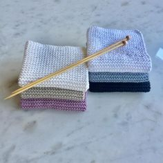 Instructions for the best dishcloths and a giveaway - Knitting for beginners,Knitting patterns,Knitting projects,Knitting cowl,Knitting blanket Loom Knitting, Knitting Needles, Free Knitting, Knitting Patterns, Beginner Knitting Projects, Knitting For Beginners, Crochet Amigurumi, Knit Crochet, Chunky Yarn