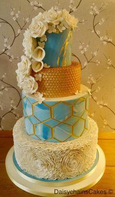 Retro Romance. My CI entry  by Daisychain's Cakes - http://cakesdecor.com/cakes/261475-retro-romance-my-ci-entry