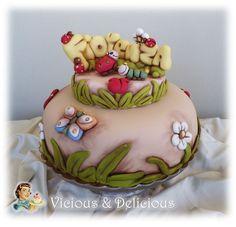 Este pastel esta simpático,una presentación muy alegre de Fiorenza in Thun.