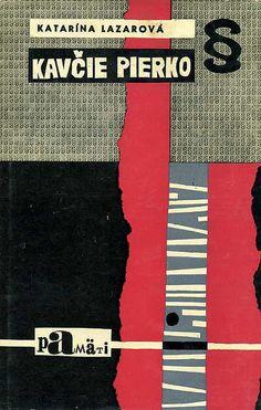 Slovak book cover, 1967, Katarina Lazarova - Kavcie pierko