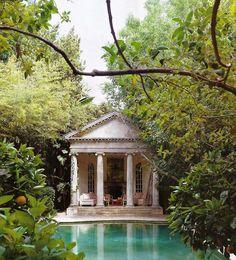 Tags: manor estate architecture pool garden