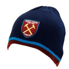 West Ham United F. Knitted Hat TP - dome knitted hat- adults one size fits all- with a swing tag- official licensed product West Ham United Fc, One Size Fits All, Nice Tops, Knitted Hats, Baseball Hats, The Unit, Brand New, Unisex, Navy