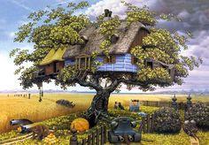 The surreal art of Jacek Yerka #
