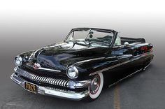 51 Mercury convertible on display at the Los Angeles Roadster Show, Pomona California