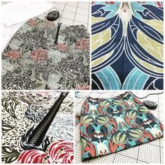 You can also use @libertylondon #furnishing #fabric to make clothing... #madetomeasure #skirts #liberty #handcrafted #sewingforpleasure