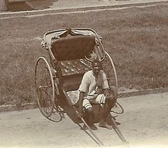 1915c Rickshaw on Esplanade, Durban