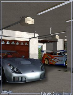 Dream Home - Garage Decor Eclectic | 3D Models and 3D Software by Daz 3D