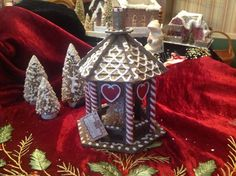 Bethany Lowe Christmas - Gingerbread Gazebo in Collectibles | eBay